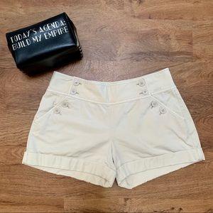 Juicy Couture khaki sailor shorts size 6 #311